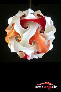 Lampadario Colorato Luminoso Moderno 35 Cm Luci Sala Da Pranzo Luce Cucina Ebay