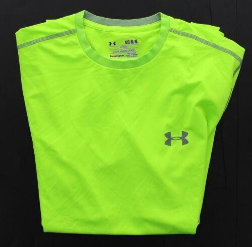 Under Armour UA Men/'s Fitted Fit Heatgear Active Short Sleeve Tee T Shirt