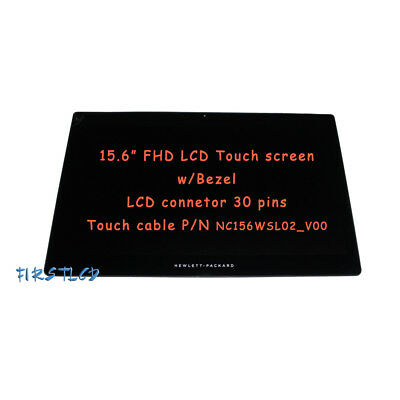 """Frame New HP Omen 15-5210nr 15.6/"""" FHD LED LCD Touch Screen Display Assembly"""
