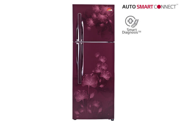 LG GL-I302RSFL 284 ltr, FROST FREE REFRIGERATOR AUTO SMART CONNECT™ TECHNOLOGY