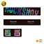 thumbnail 6 - STAR SAM® Bike shock absorber stickers 2020 RockShox Monarch Plus Rear Shock