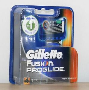 Genuine-Gillette-Fusion-Proglide-Flexball-Rasierklingen-4-Nachfuellpatronen