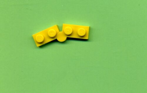 Klappscharnier --1 x 2 Lego--2429//2430 Platte Scharnier Gelb