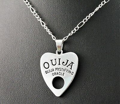 Silver Ouija Board Planchette Pendant
