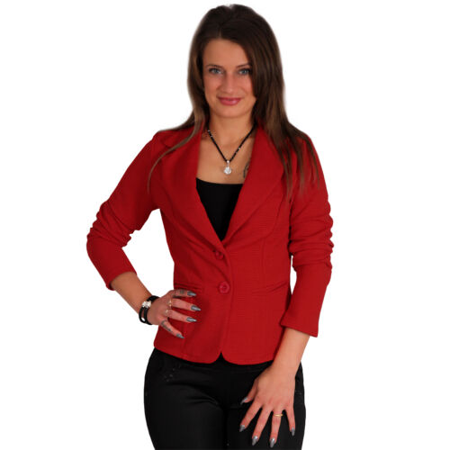Blazer 3D Stripes Structure Satin Jacket Business Office Casual Elegant
