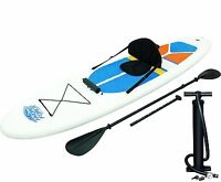 Bestway Hydro-force White Cap Inflatable Sup Stand Up Paddleboard & Kayak 65069 on sale