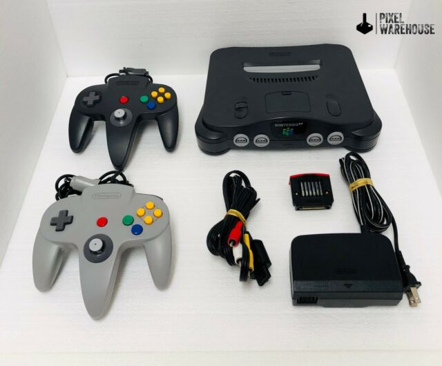 Nintendo 64 Console Bundle N64 OEM Controller Clean & Tested - FREE SHIPPING