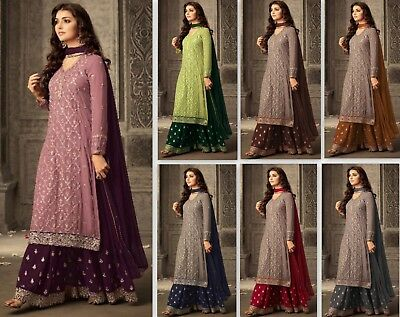 Indian anarkali salwar kameez suits sharara pakistani dress bollywood plazzo eid