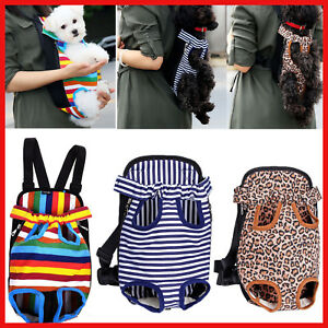 Legs-Out-Front-Pet-Dog-Puppy-Cat-Carrier-Backpack-Tote-Holder-Bag-Sling-Outdoor