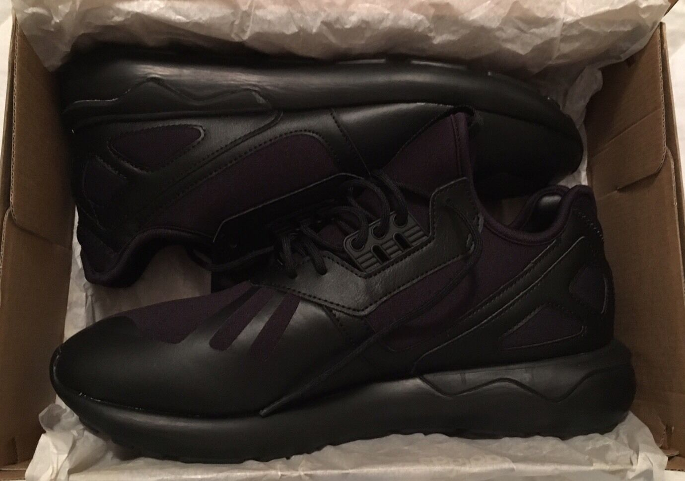 Adidas Black Tubular Runner Black Adidas size 10 Nice Rare! db16f0