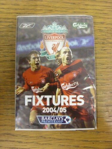 Does this item hav Fold Out Style 2004//2005 Liverpool Official Fixtures List