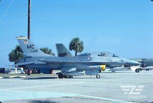 Original-slide-79-0415-Lockheed-F-16B-U-S-Air-Force-USAF-1980