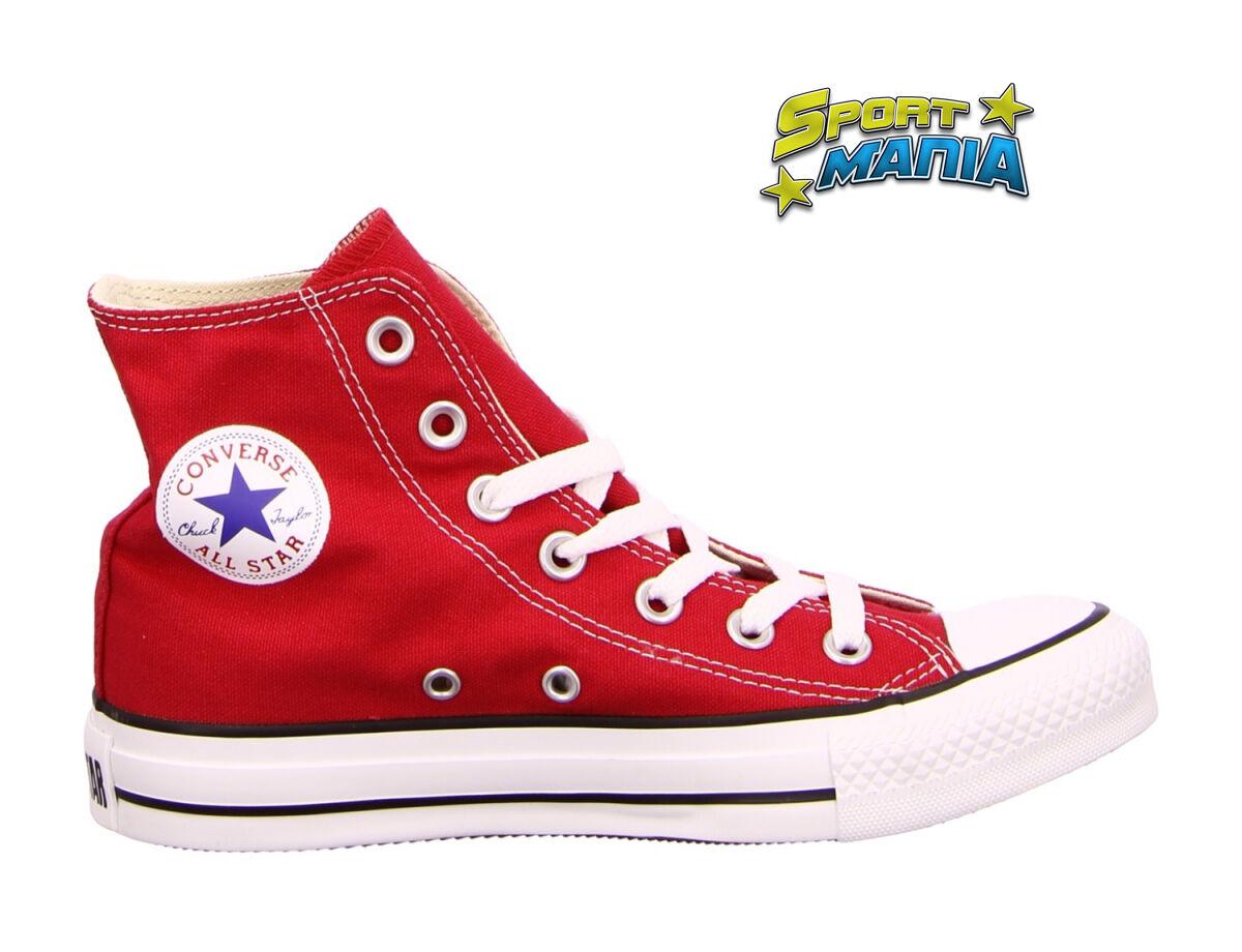 Converse All Star Rosso Unisex Scarpe Scarpe Sportive Scarpe da Ginnastica M9621C