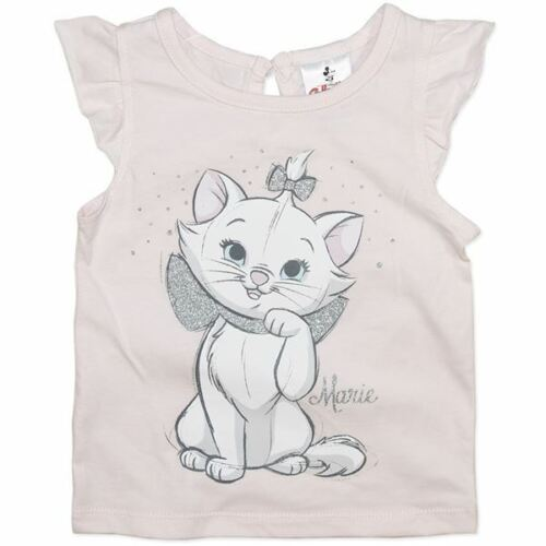 1 GIRLS DISNEY COLLECTION ARISTOCATS T SHIRT FEATURING MARIE BNWT SIZE 0 2