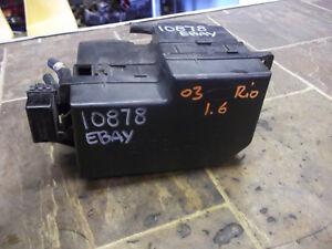 details about 00 01 02 03 04 05 kia rio oem under hood fuse box panel block assembly 1 6l  02 kia rio fuse box #15