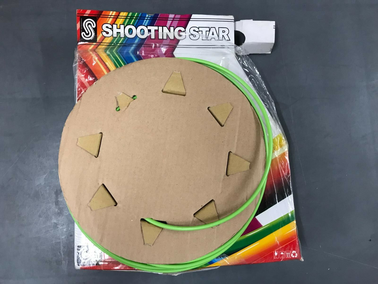 Shooting Star  50m CableShell BOX - 5mm Outer Brake Cable Shell (Green Colour)  wholesale
