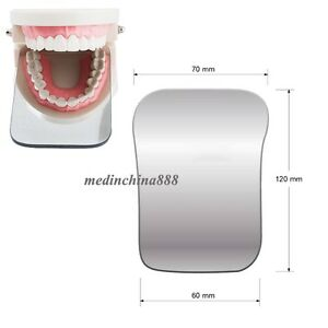 New-2sided-Dental-Glass-Photographic-Mirror-Oral-Orthodontic-Rhodium-Occlusal