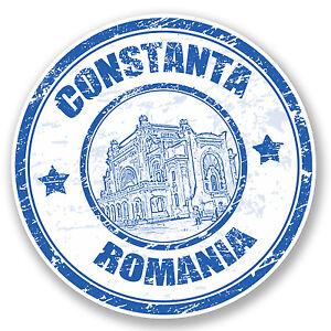 2 X 10cm Bucarest Rumania Pegatinas De Vinilo-Arch Pegatina Laptop Equipaje #17067