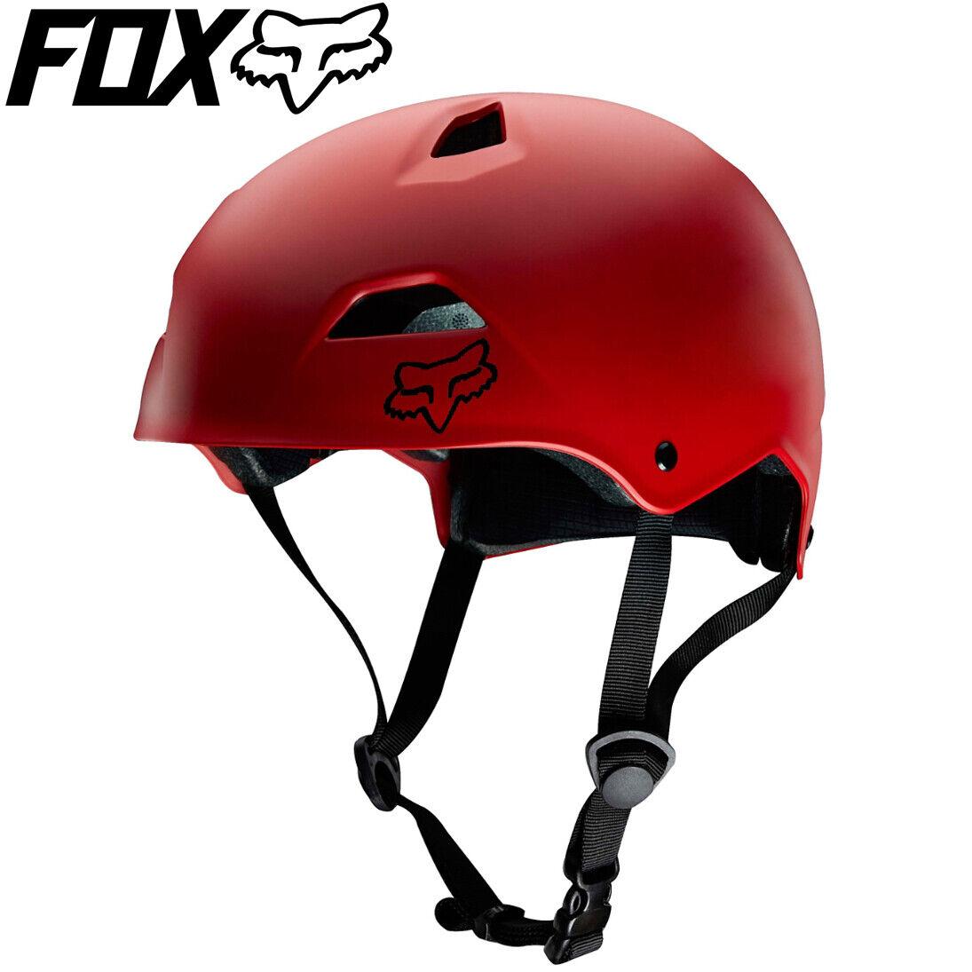 FOX Flight Sport Hardshell Bicycle Helmet - Matte Red