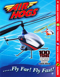 Spinmaster Air Hogs Catalog 100 Years of Powered Flight 1903-2003