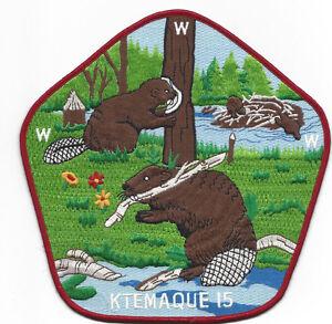 OA Lodge 15 Ktemaque Jacket Patch Westchester-Putnam [YN111]