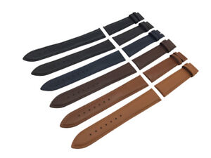 Black-Brown-Blue-Genuine-Leather-Strap-Band-fit-Roamer-watch-Buckle-18-20-22mm