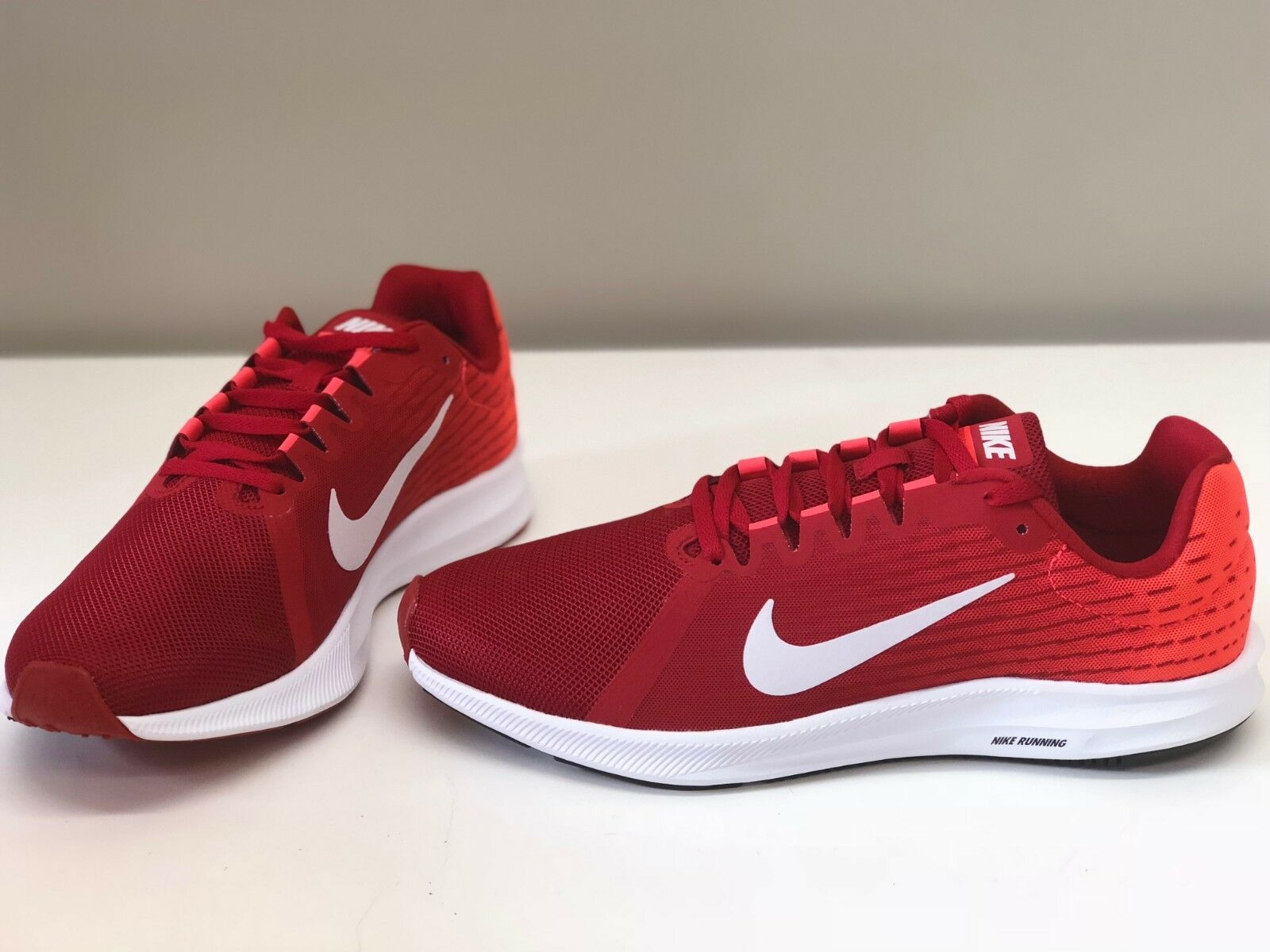 aa97599a452986 NIB MENS SIZE 9 NIKE DOWNSHIFTER DOWNSHIFTER DOWNSHIFTER 8 RUNNING SNEAKERS  RED 852459-009 426948