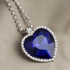 Gorgeous titanic the heart of ocean blue diamond necklace ebay image is loading gorgeous titanic the heart of ocean blue diamond aloadofball Choice Image