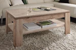 Couchtisch Wohnzimmer Tisch Eiche Sand San Remo Beistelltisch
