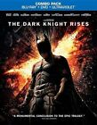 Dark Knight Rises 2pc DVD BLURAY