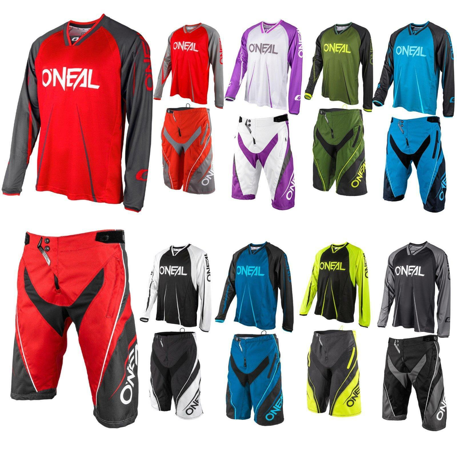 ONEAL Element FR bloccanti Jersey Pantaloncini Maglia Bicicletta Mountainbike MTB pantaloni Pant