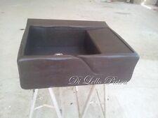 lavandino lavello lavabo cucina in pietra  Basalto 1vasca  con gocciolatoio