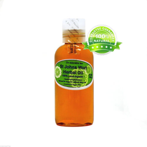 ST.JOHNS WORT WART HERBAL OIL BY DR.ADORABLE ORGANIC 100 % PURE 2 oz-UP TO 7LB
