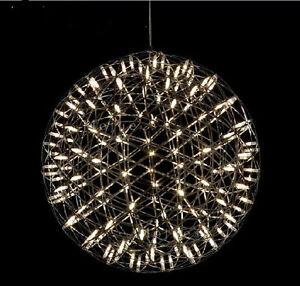 Modern-Minimalist-Style-Diameter-45CM-Stainless-Steel-LED-Chandelier-Lighting