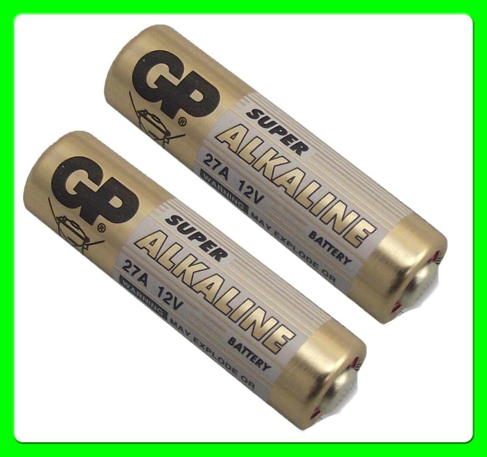 * Pack of 2 * Key Fob Battery 12V [27A] GP27A MN27 L828 CA22