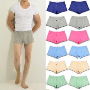 1-Pcs-Mens-Cotton-Underwear-Underpants-Boxer-Brief-Pouch-Shorts-Trunks-M-L-XL