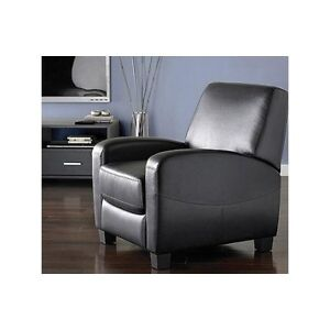Home theater recliner seat leather computer desk chair for Man cave desk