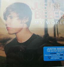 Justin Bieber - My World  (CD) . FREE UK P+P ..................................