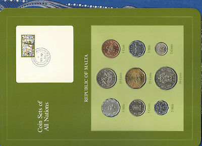 Coin Sets of All Nations Luxembourg w//Card 1980-1984 UNC 20 Francs 1982