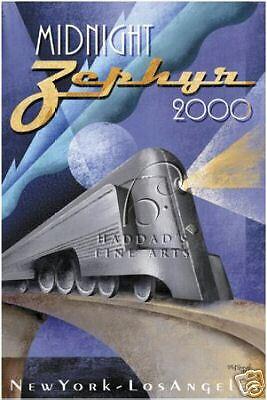 Midnight Zephyr 2000  by Micheal Kungl Canvas Print HFA