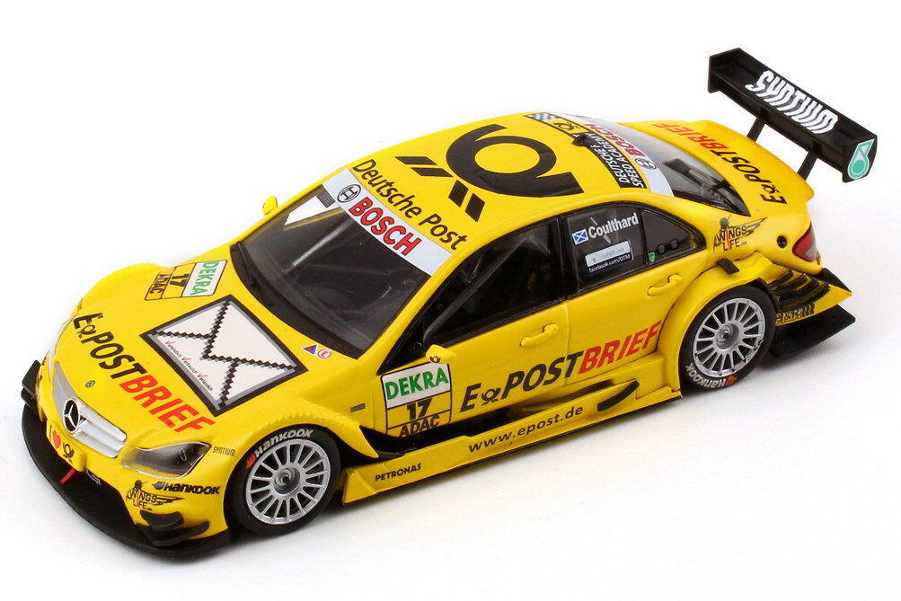 1 43 MERCEDES-BENZ MERCEDES-BENZ MERCEDES-BENZ CLASSE C w204 Mopf DTM 2011 E-courrier postal 17 David Coulthard a4dbed