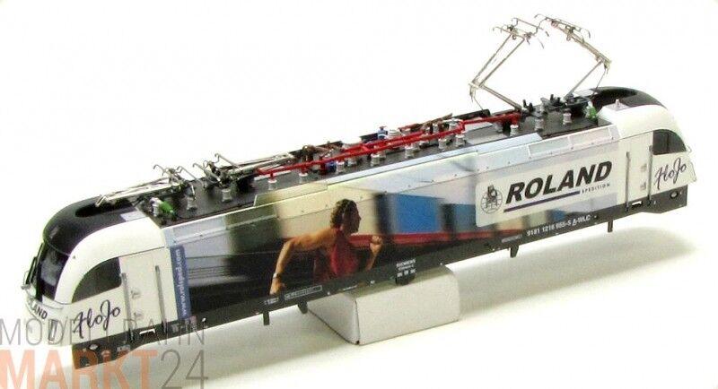 Chassis di ricambio WLC 1216 955-9 Roland, ad esempio per Roco Elektrolok BR 1216 h0 NUOVO