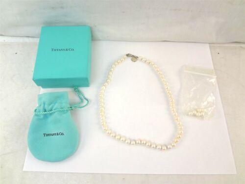 Tiffany & Co. Sterling Silver Clasp 6-7mm Akoya Pe