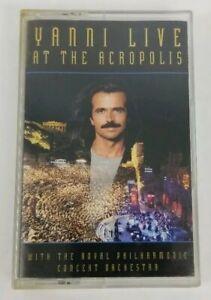 YANNI Audio Cassette Live at the Acropolis 1994 Private Music