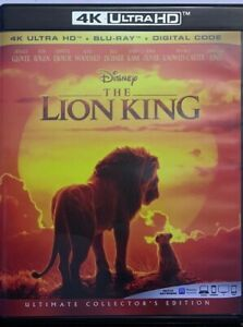 DISNEY-THE-LION-KING-LIVE-ACTION-4K-ULTRA-HD-BLU-RAY-2-DISC-SET-FREE-SHIPPING