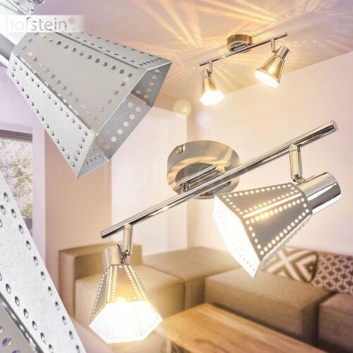 Moderne Decken Leuchte chrom Strahler Zimmer Flur Küchen Wohn Schlaf
