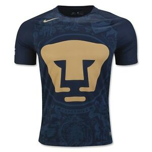 huge discount 1a3f5 02ac2 Details about NIKE PUMAS UNAM AWAY JERSEY 2016/17.