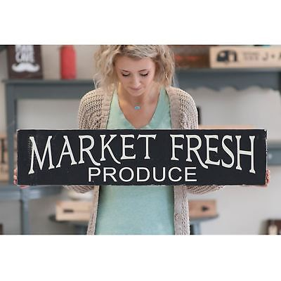 Market Fresh Produce Rustic Home Decor Wood SignKitchen SignFarm Fresh Bak