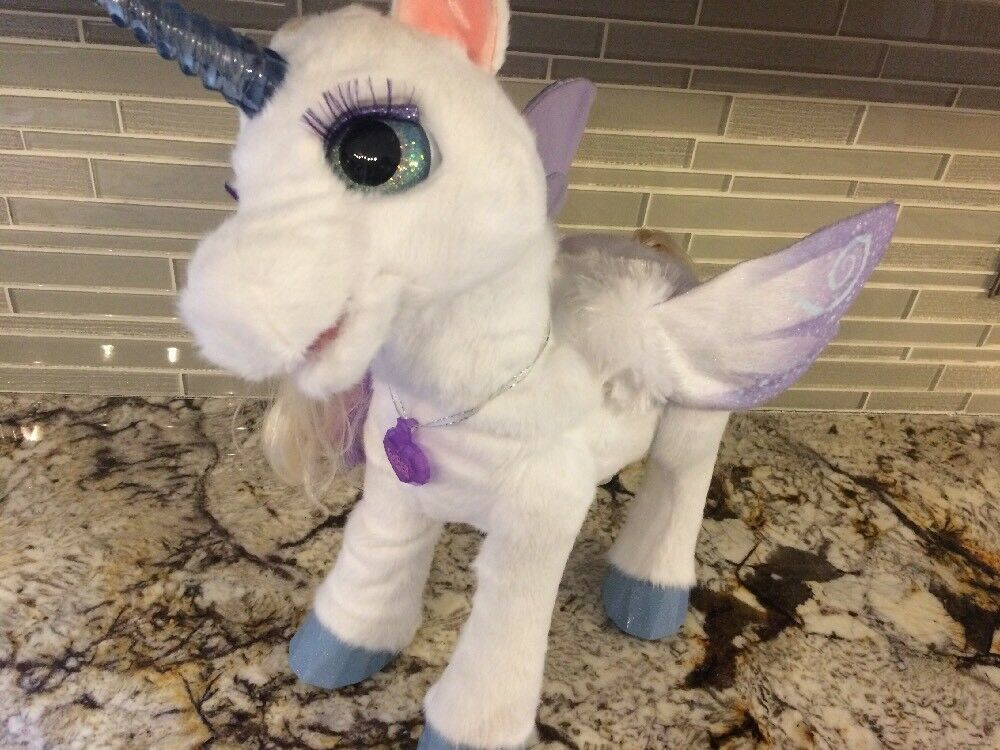 FurReal Friends StarLily My Magical Unicorn Horse Star Lilly Lily Fur Real