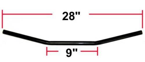 Black Drag Style Bar Handlebar 7//8 Suzuki GT750 GT380 GT550 GS650 GS450 GS750